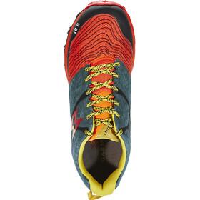 Garmont 9.81 Grid Shoes Men Orange/Dark Green